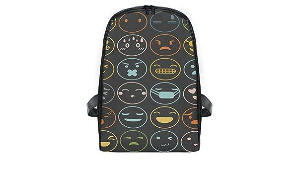 Montoj Emoji Emotions Set Face Expression Kids Mochila Ideal para ...