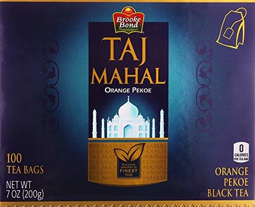 Brooke Bond, Taj Mahal Orange Pekoe Black Tea, 100 Tea Bags ()