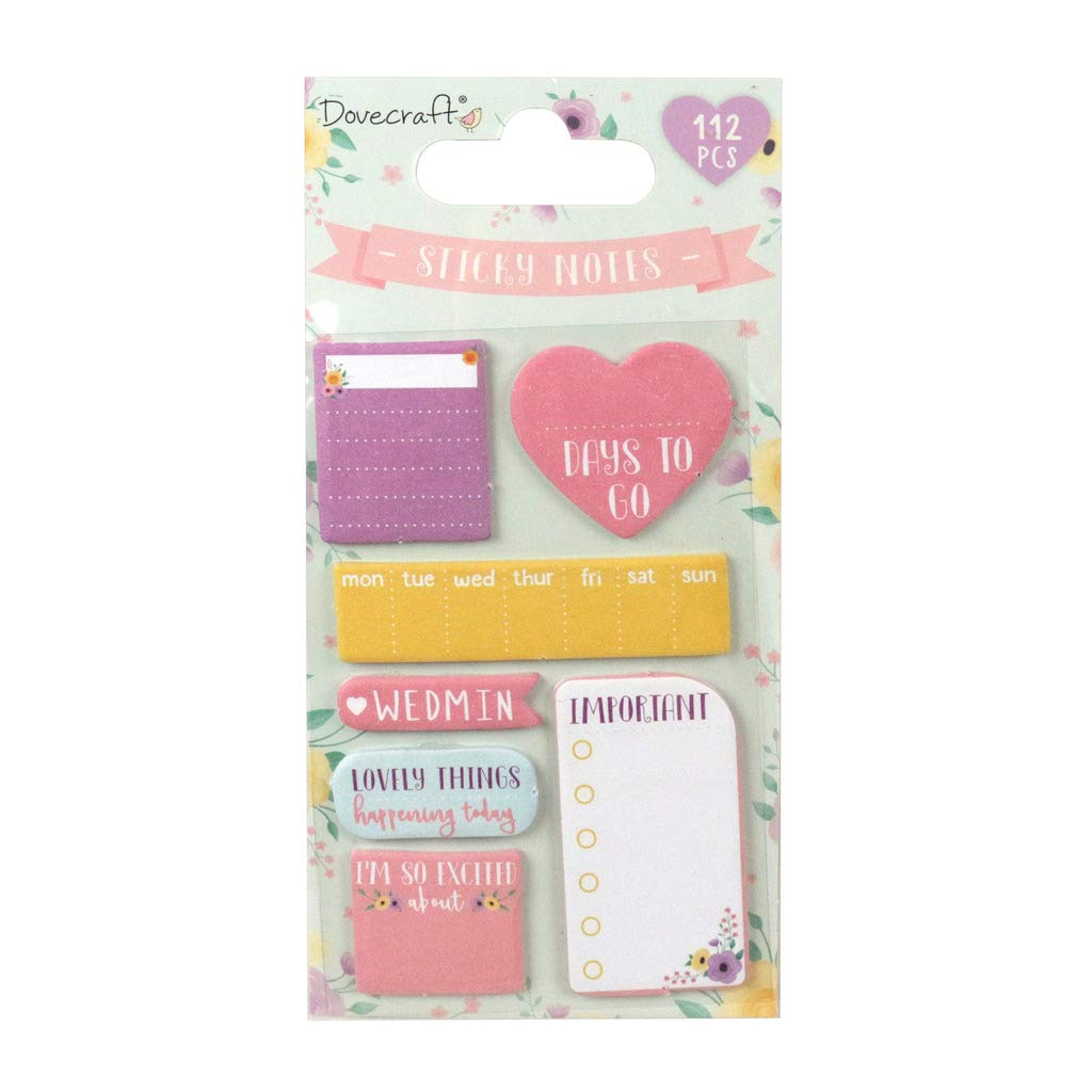 Sticky Notes Trimcraft First Edition Accessory Every Day Wedding