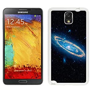 Beautiful Unique Designed Samsung Galaxy Note 3 N900A N900V N900P N900T Phone Case With Swirling Spiral Galaxy_White Phone Case