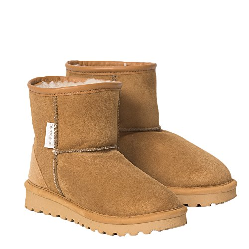 Calf Height Classic Shearling Boots British Shearling - Black - 11 ()