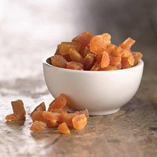 Amrita Health Foods Los albaricoques secos en cubitos sin ...