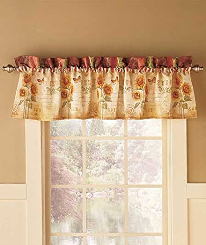 Tuscan Sunflower Valance