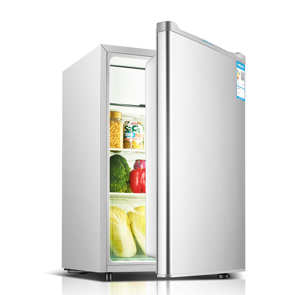 Mini-fridge Lxn 71L Under Counter Refrigerator with Covered Chiller Compartment - Small Drink Food Storage Machine for Office, Dorm or Apartment with Adjustable Removable Shelves