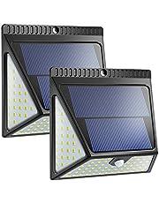 Neloodony Lampada Solare a 82 LED per Esterni - 2 packsi