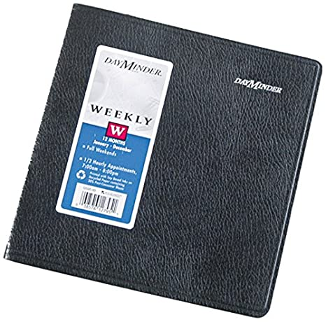 amazon com dayminder g595 00 recycled weekly appointment book