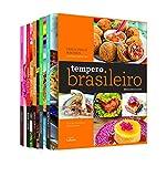 capa de Tempero Brasileiro. Brazilian Flavor. Bilíngue - Caixa