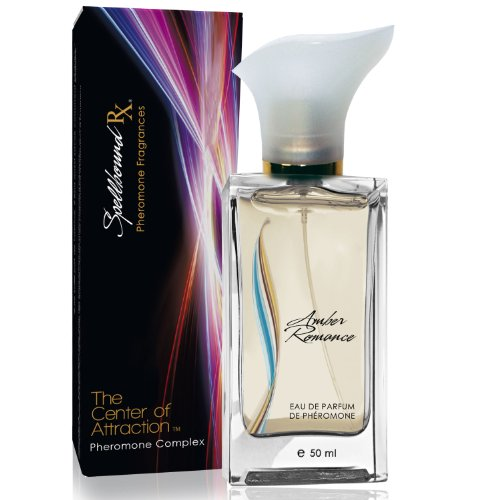 'THE CENTER OF ATTRACTION' Feminine Pheromone Eau de Perfume with the 'AMBER ROMANCE' Fragrance From SpellboundRX - The Only Patented Scientific Approach to Attract and Arouse Men that Evokes Physiological Responses 20 - 40. GUARANTEED!