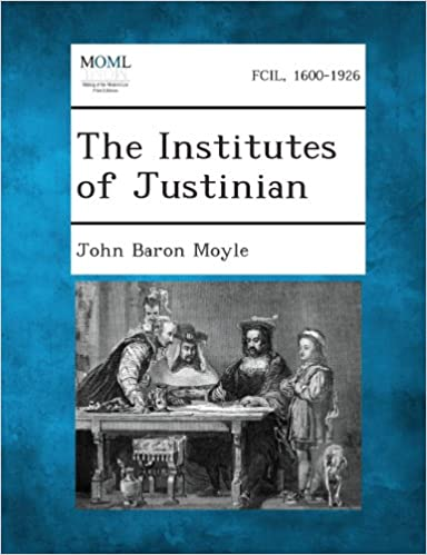 Book The Institutes of Justinian