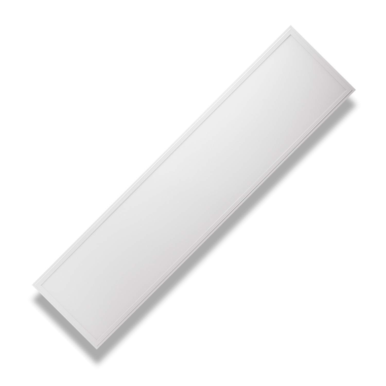PureLed LED Panel Ultraslim BACKLIGHT 120x30cm Kaltweiß 6000K 48W 4320lm Lampe Leuchte Deckenleuchte Einbauleuchte Pendelleuchte Wandleuchte inkl. Trafo und Befestigungsmaterial: Befestigungswinkel