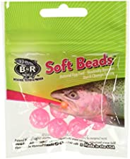 BNR Tackle SBMP14 Soft Beads Molted Pink 14mm