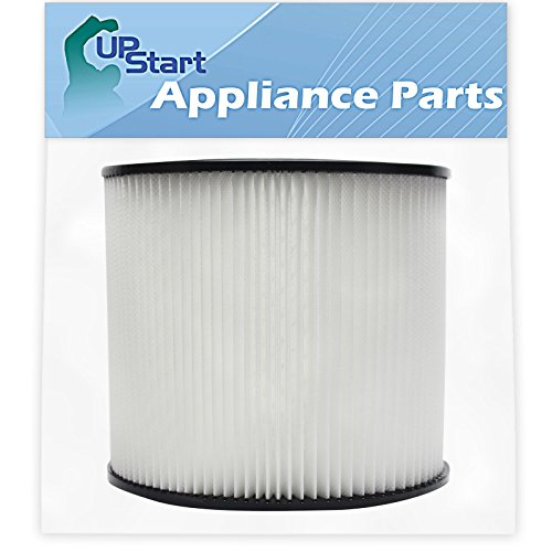 Replacement 90304 Filter for Shop-Vac - Compatible with Shop-Vac 90304, Shop-Vac LB650C, Shop-Vac QPL650, Shop-Vac 965-06-00, Shop-Vac CH87-650C, Shop-Vac SL14-300A, Shop-Vac 925-29-10, Shop-Vac 963-12-00, Shop-Vac 596-07-00, Shop-Vac 586-74-00, Shop-Vac