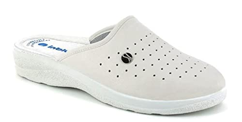 INBLU Pantofole Ciabatte SANITARIE da Uomo MOD RH-33 Bianco  Amazon ... 8c0fe9a2e88
