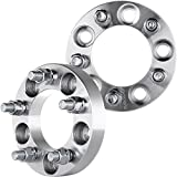 """ECCPP Wheel Spacers 5 lug 2X 1"""" (25mm) 5x4.5 to 5 x 4.5 for Lincoln MKX Jeep Liberty Mercury Grand Marquis Mountaineer Cougar XLT Ford Mustang XLT&More 1/2"""" x 20 Studs"""