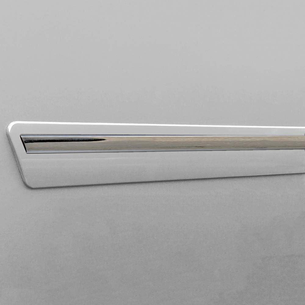Beacon Yellow EAZ Dawn Enterprises CF2-TITAN16-CC Chromeline Body Side Molding Compatible with Nissan Titan