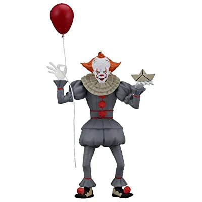 "NECA Toony Terrors - IT - 6"" Scale Action Figure - Stylized Pennywise (2020): Home & Kitchen"