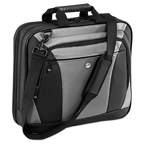 Targus CityLite Laptop Bag for 16-Inch Laptop, Black and Gra