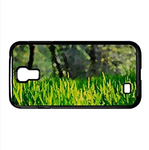 Fresh Grass Watercolor style Cover Samsung Galaxy S4 I9500 Case (Spring Watercolor style Cover Samsung Galaxy S4 I9500 Case)