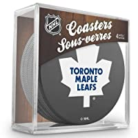 Sher-Wood Toronto Maple Leafs NHL Eishockey Puck Untersetzer (4er Set)
