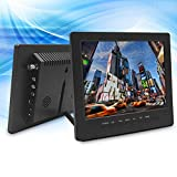 8'' Inch 4:3 Portable Monitor TFT LCD Car Monitor VGA BNC RCA Input TPEKKA 800x600 Monitor Screen for PC Display CCTV Security Cam DV Bcak Up Cam System FPV