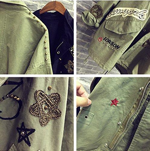 Coffeepop Mujer Fashion Irregular grande solapa Cashmere Jersey Coat Cardigan Chaqueta gris