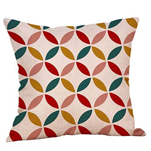 - CCatyam Lumbar Pillow Cover, Throw Pillowcase Linen Print Body Home Decor for Cushion Sofa Office Soft