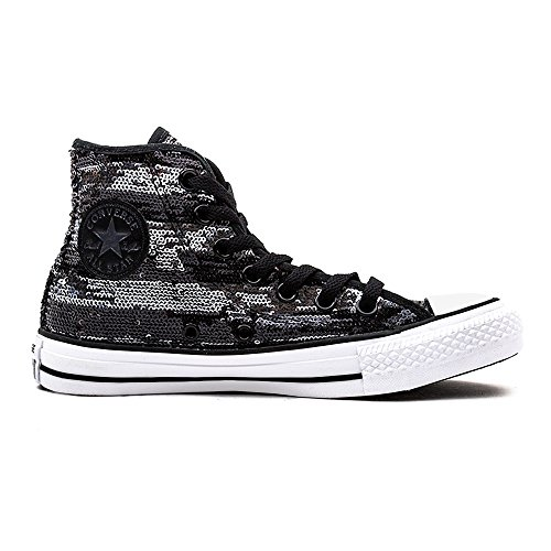 Silver Sneaker Adulto Hi Unisex Leather Black Suede White Star Converse qI8nwa1FOn