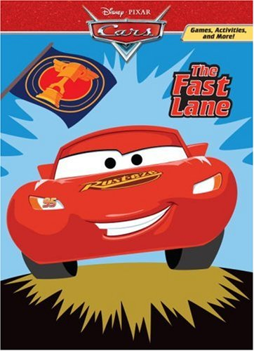 Download The Fast Lane (Deluxe Coloring Book)(Cars movie tie in) ebook