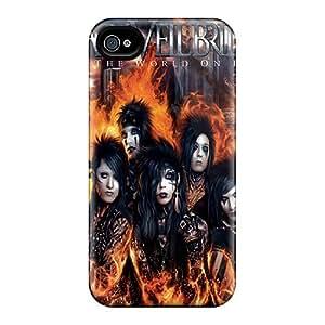 Shock-Absorbing Hard Phone Cases For Iphone 6plus (ARh7261OTON) Provide Private Custom Nice Black Veil Brides Pattern