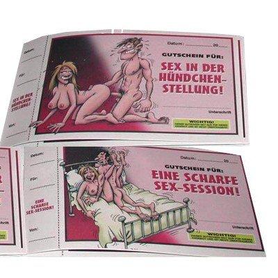 You2Toys Sex-Stellungen Gutscheine, 1 Stück