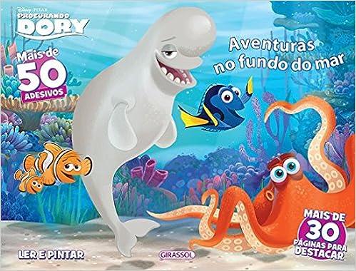 Disney Ler E Pintar Aventuras No Fundo Do Mar Varios Autores