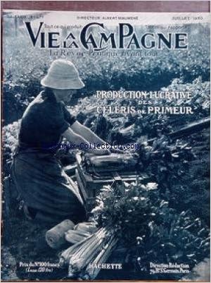 VIE A LA CAMPAGNE [No 477] du 01/07/1950 - SOMMAIRE - COUVERTURE - RECOLTE DES CELERIS DE PRIMEUR - FRONTISPICE - AUTOFECONDATION DU MAIS - QUESTIONS DU MOIS - POUR LA JEUNESSE AGRICOLE - PRODUCTION PORCINE - L'AGRICULTURE HOLLANDAISE - LE MAIS EN HOLLAND