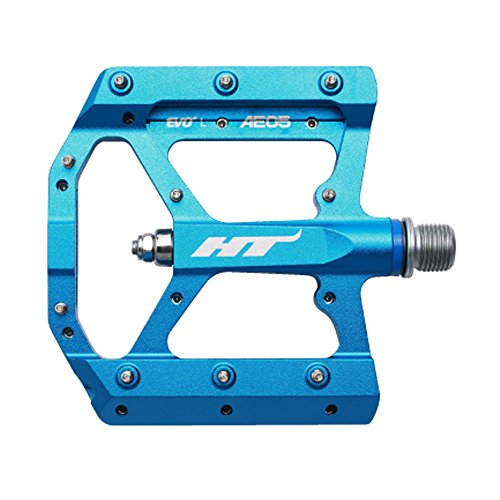 (HT Components AE05 Evo Pedals Marine Blue, One Size)