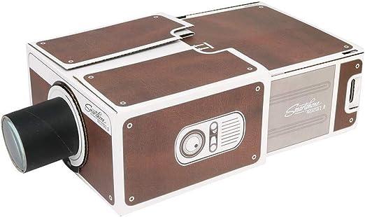 Huacaili Pantalla del proyector DIY 3D Cartón Mini Smartphone ...