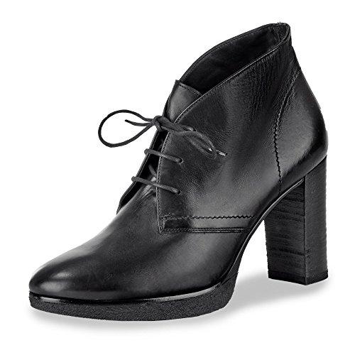 Noir Green Paul Cuir à de Femme en Course 001 9207 pour Chaussures Pied Lisse 1qwxrFqACc