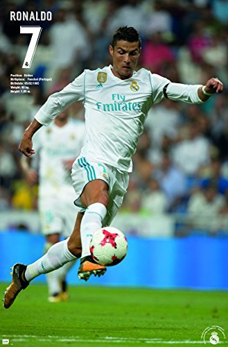 Trends International Wall Poster Cristiano Ronaldo Real Madrid, 22.375