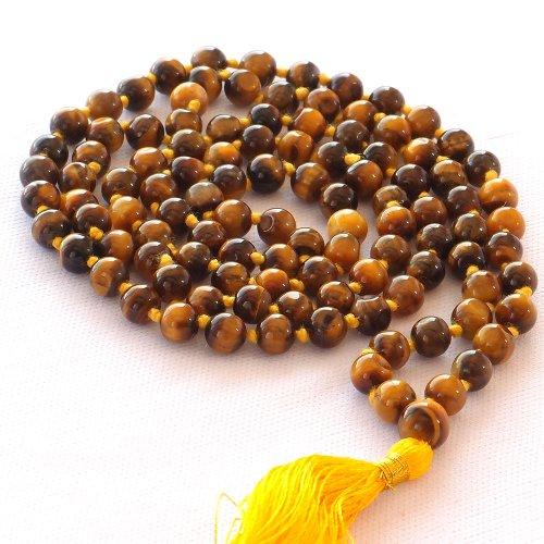 HealthAndYoga TM Mala Beads Tiger%60s product image