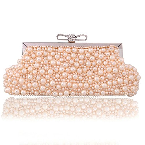 GSYDXKB Abend Party Tasche Cocktail Party Perle Tasche Pearl Bag Womens Banquet Clutch Bag Beaded Cheongsam Bag Evening Bag Evening Bag