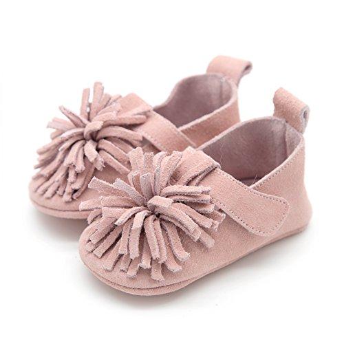 Elk Footwear (T-Strap Flower Pink 0-6 mos)