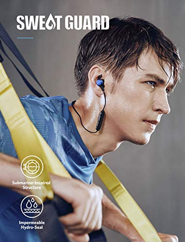 upc 848061005929 product image for Soundcore Wireless Headphones Anker Spirit Pro, Dual EQ, 10 Hour Playtime, IP68, SweatGuard Technology, aptX Hi-Fi Sound, Built-in Mic, Bluetooth Earphones, Earbuds for Running, Sports, Workout, Gym