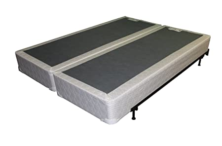 Split Box Spring Foundation Solid For Queen Mattress Two Piece