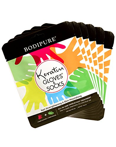 Hand & Foot : Treatments - Keratin Combo Pack All-in-One Hand and Foot Treatment - 6pk
