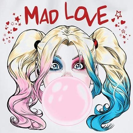 Spreadshirt Harley Quinn Amour Fou Sac /à dos cordon