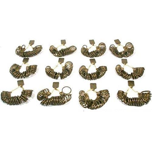 12 Ring Sizing Finger Size Gauges Jewelry Sizer Tools