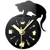 Kaimao Magnetic Fridge / Kitchen Clock , Mini Silent Sweep DIY...