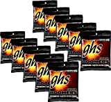 GHS Strings GHS Boomers Roundwound Electic Guitar Strings Light GBL 10 Pack (10-46)