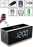 Best Home-X Alarm Clocks - Boytone BT-86C Bluetooth 4.1 Portable Alarm Clock Radio Review