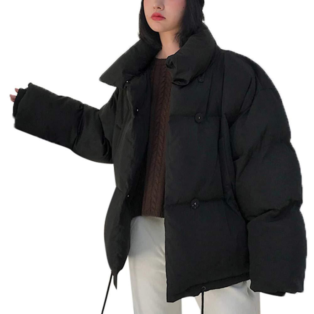 Donna Cappotto Piumino Maniche Lunghe Giacca Camicetta Pelliccia Sciolto Donna Top Shirt Moda Qinsling