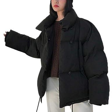 f19cc2f7753 MaxFox Women Warmer Loose bread Outwear Coat Long Thicker Easy Cotton Slim  Parka Jacket for Cold