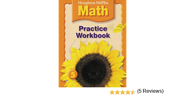 Math Worksheets houghton mifflin math worksheets grade 5 : Houghton Mifflin Math: Practice Book Grade 5: HOUGHTON MIFFLIN ...